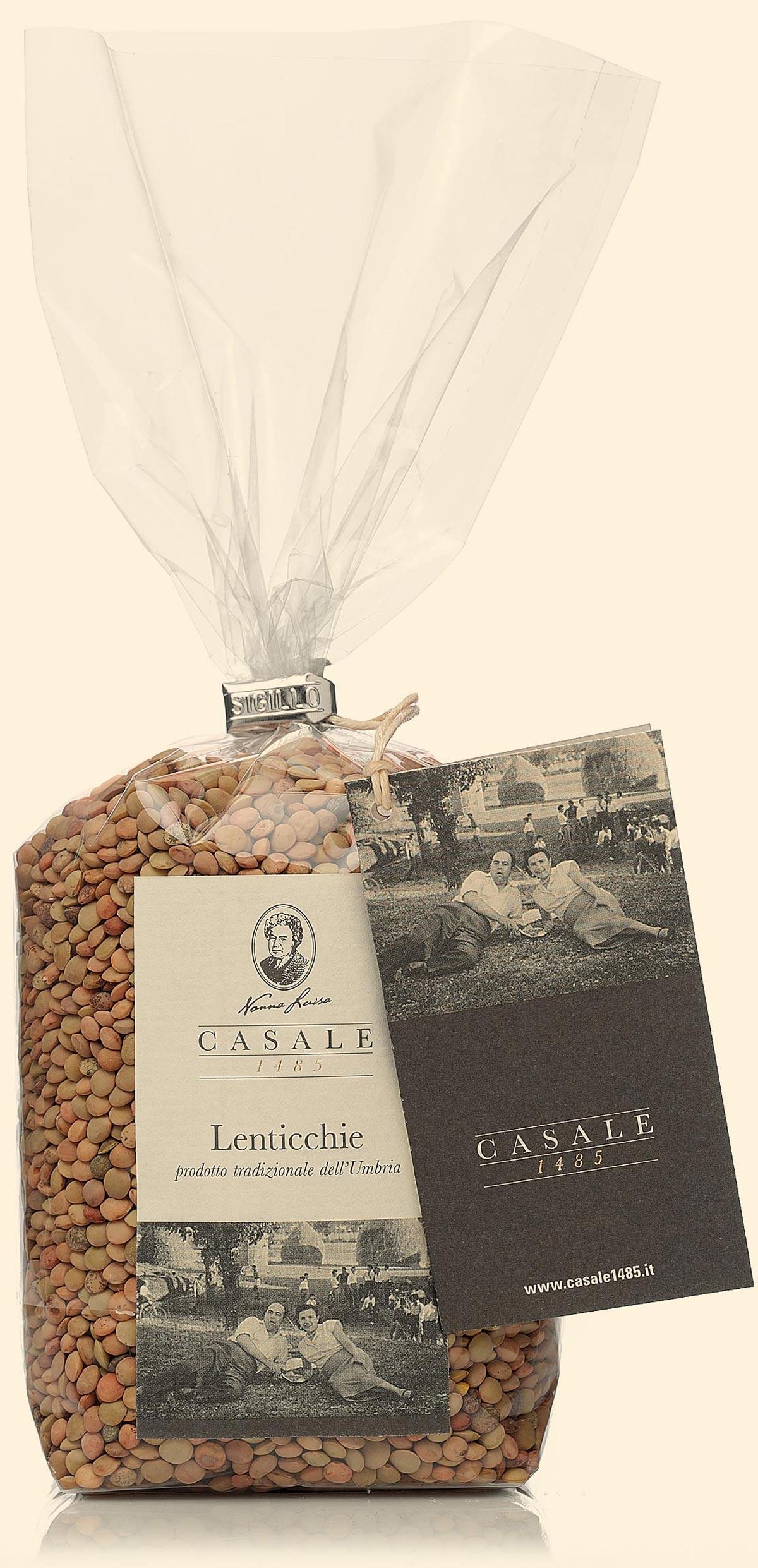 Lentils from Umbria